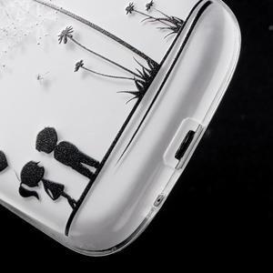 Ultratenký gelový obal na mobil Samsung Galaxy S3 - láska - 5