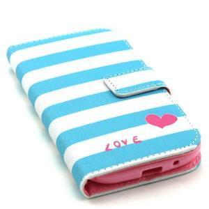Knížkové pouzdro na mobil Samsung Galaxy S3 - love - 5