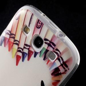 Ultratenký gelový obal na mobil Samsung Galaxy S3 - smile - 5