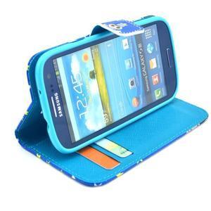Pictu pouzdro na mobil Samsung Galaxy S3 - sova s vousem - 5