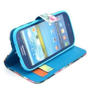 Pictu pouzdro na mobil Samsung Galaxy S3 - květiny - 5