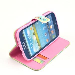 Pictu pouzdro na mobil Samsung Galaxy S3 - sovičky - 5