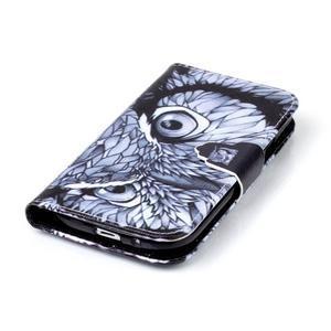 Emotive peněženkové pouzdro na Samsung Galaxy S3 - sova - 5