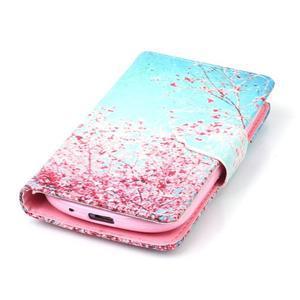 Emotive pouzdro na mobil Samsung Galaxy S3 mini - kvetoucí švestka - 5