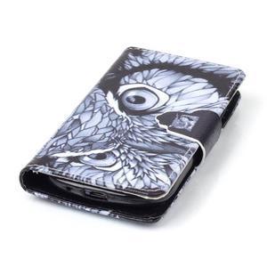 Emotive pouzdro na mobil Samsung Galaxy S3 mini - sova - 5