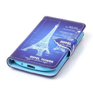 Emotive pouzdro na mobil Samsung Galaxy S3 mini - Eiffelova věž - 5
