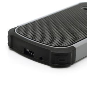 Outdoor odolný obal na mobil Samsung Galaxy S3 mini - šedý - 5