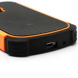 Outdoor odolný obal na mobil Samsung Galaxy S3 mini - oranžový - 5
