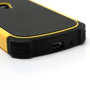 Outdoor odolný obal na mobil Samsung Galaxy S3 mini - žlutý - 5