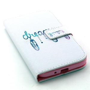 Standy peněženkové pouzdro na Samsung Galaxy S4 - dream - 5
