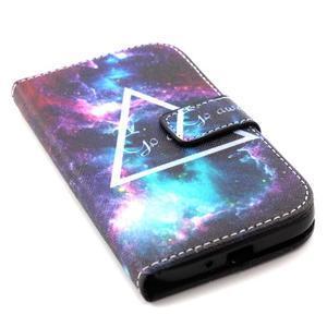 Standy peněženkové pouzdro na Samsung Galaxy S4 - triangl - 5