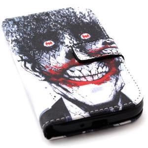 Standy peněženkové pouzdro na Samsung Galaxy S4 - monstrum - 5