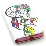 Standy peněženkové pouzdro na Samsung Galaxy S4 - lapač snů - 5/7