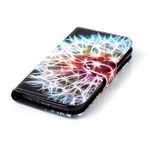 Emotive knížkové pouzdro na Samsung Galaxy S4 - barevená pampeliška - 5