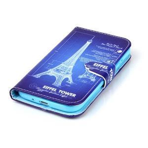 Emotive knížkové pouzdro na Samsung Galaxy S4 - Eiffelova věž - 5