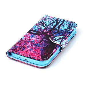 Emotive knížkové pouzdro na Samsung Galaxy S4 - strom - 5