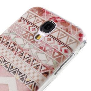 Ultratenký slim gelový obal na Samsung Galaxy S4 - geo tvary - 5