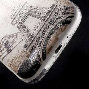 Slim gelový obal na mobil Samsung Galaxy S4 - Eiffelova věž - 5
