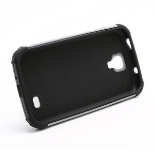 Outdoor odolný silikonový obal na Samsung Galaxy S4 - šedý - 5