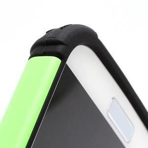 Outdoor odolný silikonový obal na Samsung Galaxy S4 - zelený - 5