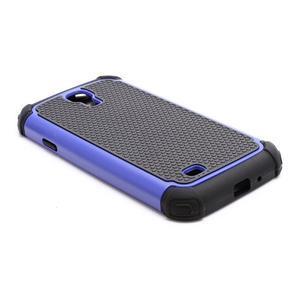Outdoor odolný silikonový obal na Samsung Galaxy S4 - tmavěmodrý - 5