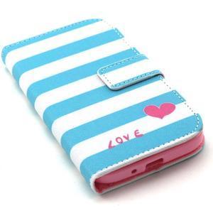 Standy peněženkové pouzdro na Samsung Galaxy S4 - love - 5
