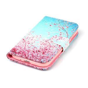 Emotive peněženkové pouzdro na Samsung Galaxy S4 mini - kvetoucí švestka - 5