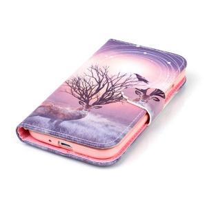 Emotive peněženkové pouzdro na Samsung Galaxy S4 mini - mystický jelen - 5