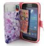 Diaryleather pouzdro na mobil Samsung Galaxy S4 mini - beatiful - 5/6