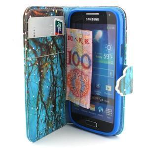 Diaryleather pouzdro na mobil Samsung Galaxy S4 mini - větve stromu - 5