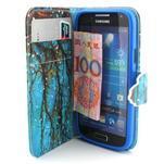 Diaryleather pouzdro na mobil Samsung Galaxy S4 mini - větve stromu - 5/7