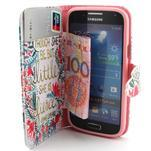 Diaryleather pouzdro na mobil Samsung Galaxy S4 mini - Shakespeare - 5/7