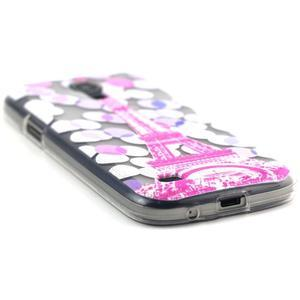 Transparentní gelový obal na Samsung Galaxy S4 mini - Eiffelova věž - 5