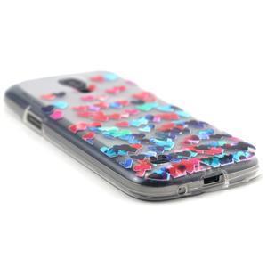 Transparentní gelový obal na Samsung Galaxy S4 mini - srdíčka - 5