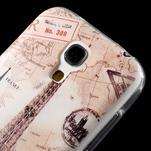 Gelový obal na mobil Samsung Galaxy S4 mini - Eiffelova věž - 5/6