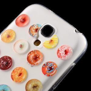 Gelový obal na mobil Samsung Galaxy S4 mini - donuts - 5