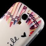 Gelový obal na mobil Samsung Galaxy S4 mini - život je krásný - 5/6