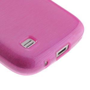 Brushed gelový obal na mobil Samsung Galaxy S4 mini - rose - 5