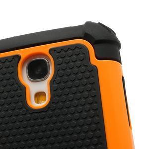 Extreme odolný kryt na mobil Samsung Galaxy S4 mini - oranžový - 5