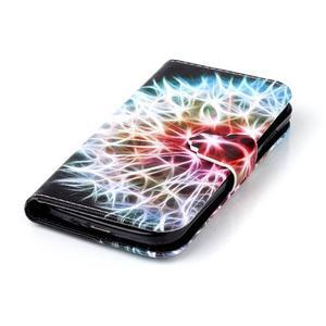 Emotive peněženkové pouzdro na Samsung Galaxy S4 mini - barevená pampeliška - 5