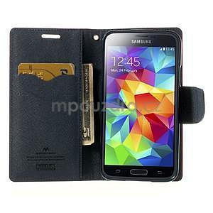 Diary peněženkové pouzdro na Samsung Galaxy S5 - rose - 5