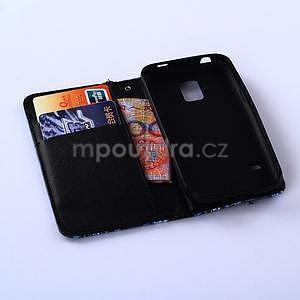Pouzdro na mobil Samsung Galaxy S5 - žirafí mafie - 5