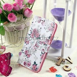 Ochranné pouzdro na mobil Samsung Galaxy S5 - květinová koláž - 5