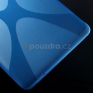X-line gelové pouzdro na tablet Samsung Galaxy Tab E 9.6 - modré - 5