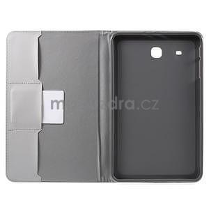 Ochranné koženkové pouzdro na Samsung Galaxy Tab E 9.6 - Eiffelova věž - 5