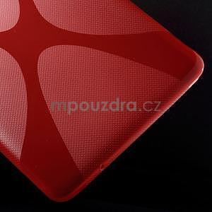 X-line gelové pouzdro na tablet Samsung Galaxy Tab E 9.6 - červené - 5