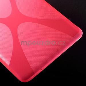 X-line gelové pouzdro na tablet Samsung Galaxy Tab E 9.6 - rose - 5