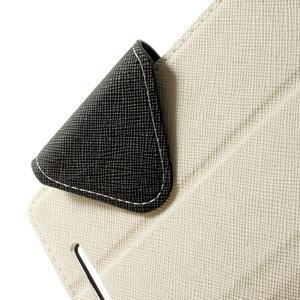 Peněženkové pouzdro s okýnkem na Sony Xperia E3 - bílé - 5