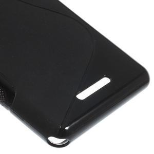 S-line gelový obal na Sony Xperia E3 - černý - 5