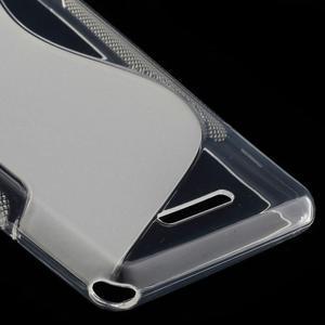 S-line gelový obal na Sony Xperia E3 - transparentní - 5